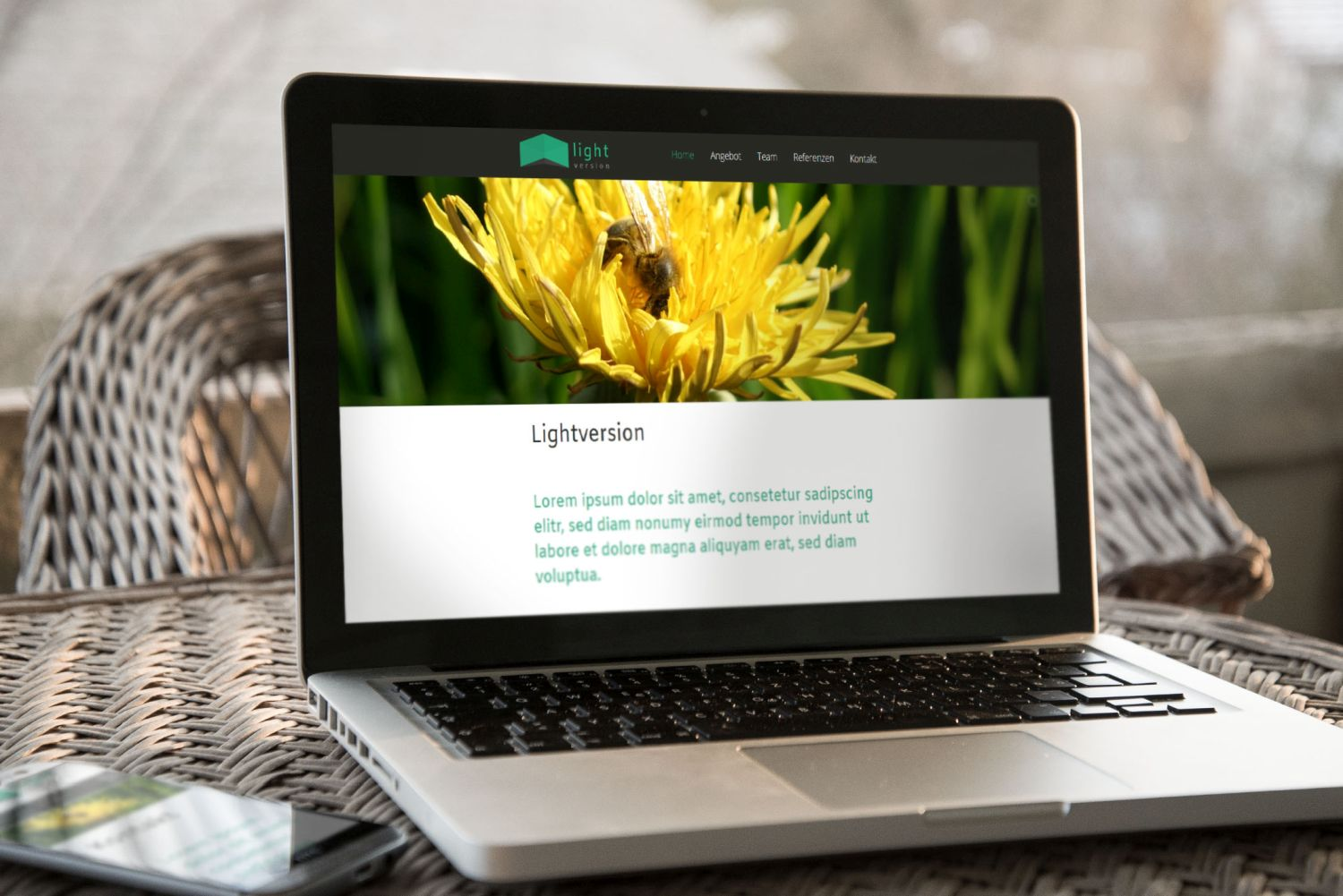 Lightversion Webdesign